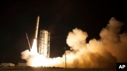La sonda fue propulsada por un cohete Minotaur V lanzado desde Wallops Island, en Virginia.