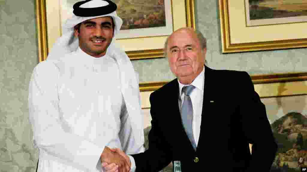 Mideast Qatar FIFA Qatar