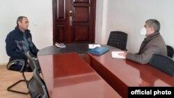 Ombudsman Aparatı rəsmi intenet saytında yayılan Əfqan Sadiqovun fotosu