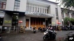 Penjara Kerobokan, Denpasar, Bali. (Foto: dok). Diduga menyelundupkan narkoba, empat WNA ditangkap di bandara Ngurah Rai, Bali (21/10).