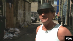 Richard Teague, infected with HIV as a heroin user in Vancouver's alleys, has been clean for six years. He praises supervised injection.
