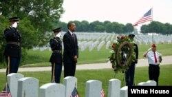 اوباما «د متحده ایالاتو د وژل شويو پوځیانو د یادونې ورځ سږکال ځکه ډیره ځانگړې ده چې په افغانستان کې د امریکا جنگي ماموریت پای ته رسیدلی دی.»