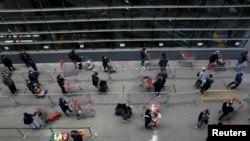 На фото: 1 квітня, соціальне дистанцювання у Нью-Йорку