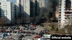 Eksplozija u podgoričkom naselju Blok 5