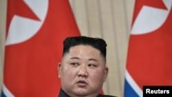 Kim Jong Un wa Koreya ya Ruguru