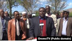 Bakka bu'oonni paartii afranii OromoTV irratti ibsa oggaa kennan, Caamsaa 1,2016