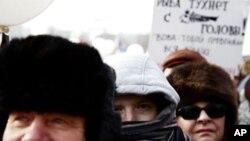 Болотная площадь, Москва. 4 февраля 2012 г.