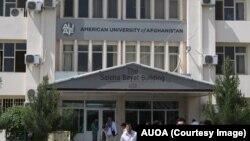 American University of Afghanistan di Kabul, tempat salah satu sandera asing yang ditawan Taliban mengajar.