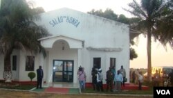 Salão de Honra no Aeroporto Internacional Osvaldo Vieira, Bissau.