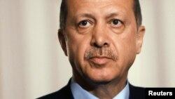 Turkish Prime Minister Recep Tayip Erdogan (Sept 2012 file photo)