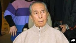 澳博控股的老闆何鴻燊(資料圖片)