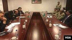 پاکستان اور افغانستان کی اعلیٰ فوجی قیادت کے درمیان مذاکرات ۔ نومبر 2017