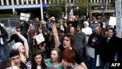 «Захватчики Уолл-стрит» и первая поправка к Конституции США