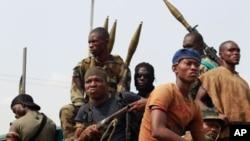 Des soldats de Laurent Gbagbo à Abidjan
