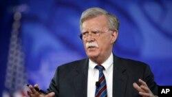 Gorsaa naga eegumsa biyyoolessaa Ameerikaa, John Bolton