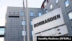 """""""Bombarderier""""-in İsveçdəki ofisi. Stokholm."""