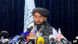 د طالبانو ویاند ذبیح الله مجاهد