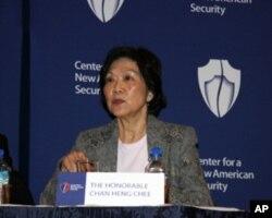 新加坡驻美大使陈庆珠