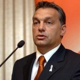 Hungarian Prime Minister Viktor Orban (file)