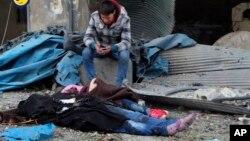 Алеппо, Сирия. 30 ноября 2016 г.