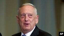 امریکہ وزیر دفاع جم میٹس (فائل)