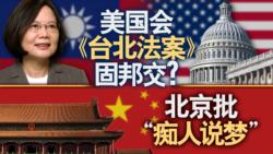 """海峡论谈:美国会《台北法案》固邦交?北京批""""痴人说梦"""""""