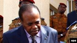 Le facilitateur désigné par l'Union africain pour le dialogue national congolais, Edem Kodjo, 4 novembre 2014.