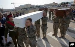马耳他举行悼念海上遇难者仪式