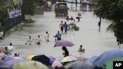 Rains Bring Major Flooding to Philippines