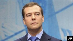 Russian President Dmitry Medvedev (file photo)