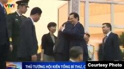 Thủ tướng Nguyễn Tấn Dũng hội kiến Chủ tịch TQ Tập Cận Bình hôm 5/11.