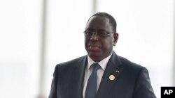 Macky Sall, président du Sénégal, 4 septembre 2016.