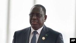 Le président sénégalais Macky Sall, 4 septembre 2016