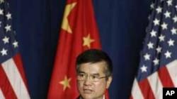 駱家輝星期二在北京發表演講