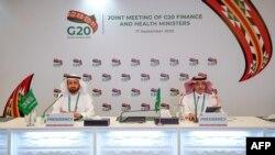 沙特阿拉伯卫生部长和财长于2020年9月17日出席由沙特举办的G20卫生和财政部长会议,商讨从疫情中复苏加强国际合作,并加强未来应对全球疫情的准备工作。