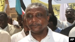File Photo of Yasir Arman, Secretary General of the SPLM's northern sector