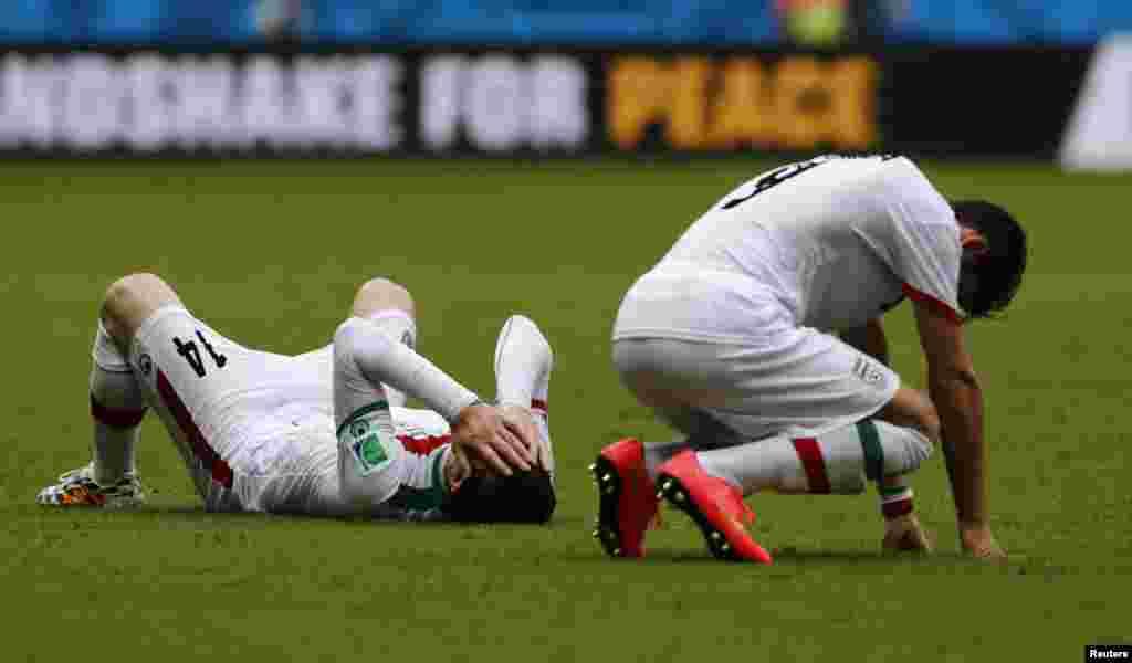 برازیل فٹ بال ورلڈکپ کے گروپ ایف کے مقابلے میں بوسنیا نے ایران کوایک کے مقابلے میں تین گول سے شکست دی