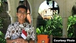 Alfian Rusli, wakil budaya untuk Disney Cultural Representative Program di Florida (dok: Alfian Rusli)