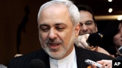 Mohammad Javad Zarif, shown here when he was Iran's ambassador to the U.N., is now foreign minister and will represent Tehran in any renewed nuclear talks.