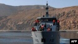 Один из боевых кораблей ВМС Йемена