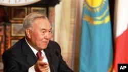 Nursultan Nazarbayev (file)