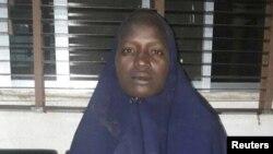 ຮູບພາບ ທີ່ບໍ່ບອກວັນເວລາ ຂອງແມ່ຍິງ Chibok ທີ່ພິມເຜີຍແຜ່ ໂດຍກອງທັບໄນຈີເຣຍ.