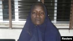 Foto de la segunda chica rescatada de manos de Boko Haram, según el ejército nigeriano.