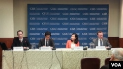 22일 워싱턴 전략국제문제연구소(CSIS)에서 '미국과 한국, 일 관계의 재설정'이란 주제로 열린 학술 토론회.