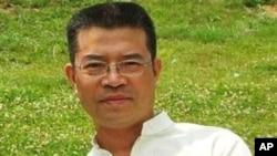 中国维权人士陈西的亲属12月26日发布的陈西照片