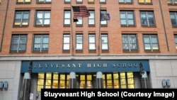 Stuyvesant High School in New York City is ranked as the top U.S. high school by Niche.com.