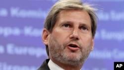 Evropski komesar za proces pregovora Johans Han