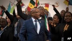 Le président Jacob Zuma à Johannesburg, en juin 2015.