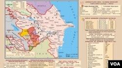 Dağlıq Qarabağ münaqişəsinin xəritəsi