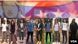 20 jóvenes venezolanos hablaron con la Voz de América de sus memorias, sus retos y de cómo ven el futuro de su país. (Fotos: Luisana Solano y Cortesía - VOA)